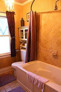 A bathroom at GlenMorey Country House