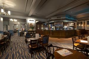 The lounge or bar area at The Yarborough Hotel Wetherspoon