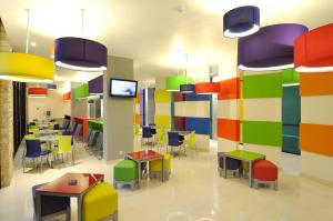 The kid's club at POP! Hotel Teuku Umar
