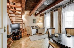 Area soggiorno di Hotel Residence Bijou de Prague