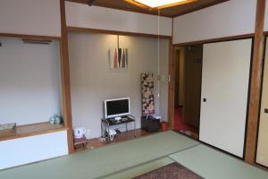 A television and/or entertainment center at Fukumakan