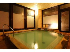 The swimming pool at or close to Suminoyu