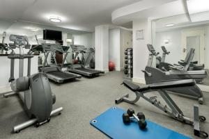 The fitness center and/or fitness facilities at Hotel Mela Times Square