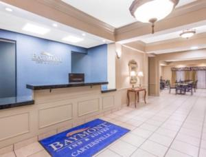 A television and/or entertainment center at Baymont by Wyndham Cartersville