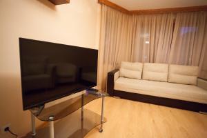 Телевизор и/или развлекательный центр в Apartment on Energetikov 53/3