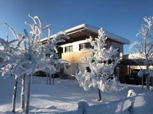 Designferienhaus Altenmarkt Zauchensee im Winter