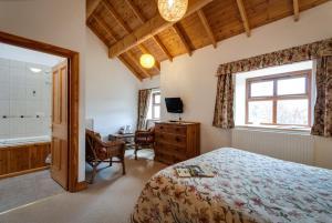 Parr Hall Farmにあるベッド