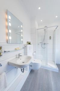 Ванная комната в Hotel Westfalia