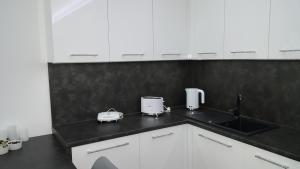 Kuchnia lub aneks kuchenny w obiekcie Apartament Love