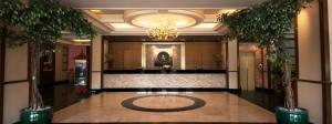 The lobby or reception area at Chakungrao Riverview Hotel