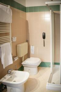 A bathroom at Art Hotel Milano
