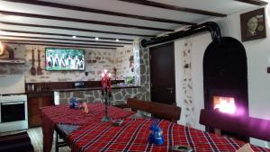 Ресторант или друго място за хранене в Guesthouse Orlovo