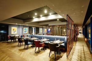 A restaurant or other place to eat at Malmaison Brighton