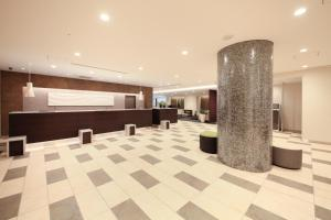 The lobby or reception area at Richmond Hotel Tokyo Suidobashi
