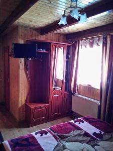 A bed or beds in a room at U Karoliny