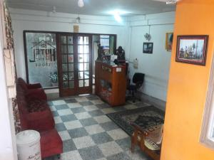 The lobby or reception area at Hotel Classic