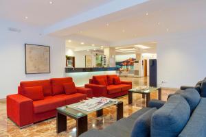 El vestíbulo o zona de recepción de Ibiza Playa