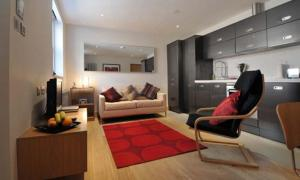 A seating area at HomefromHolme St Peters Mews