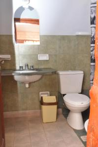 A bathroom at Hotel El Jardin