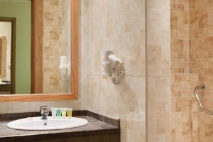 A bathroom at Ramada Resort Dead Sea