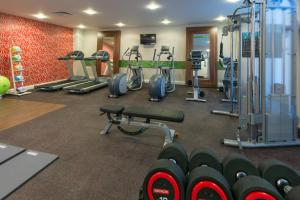 The fitness center and/or fitness facilities at Hampton by Hilton Luton Airport