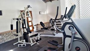 The fitness center and/or fitness facilities at Matum Hotel & Casino
