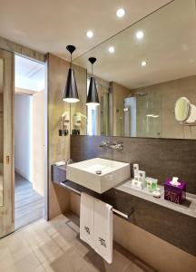 Koupelna v ubytování Hotel Barcelona Catedral