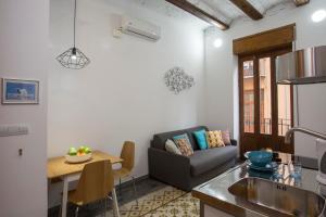 Zona de estar de Eco-Friendly Apartments
