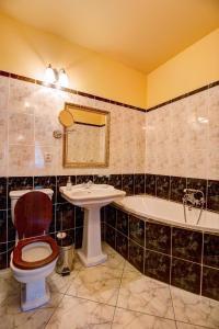Kúpeľňa v ubytovaní Penzión Cosmopolitan I.