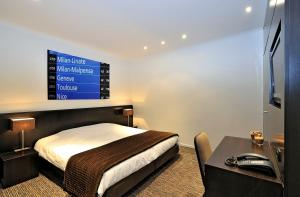 Кровать или кровати в номере The Market by Parkhotel