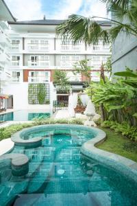 The swimming pool at or near Maison Aurelia Sanur, Bali - By Préférence