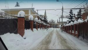 Guest House Chishma during the winter