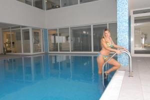 The swimming pool at or near Hotel Park