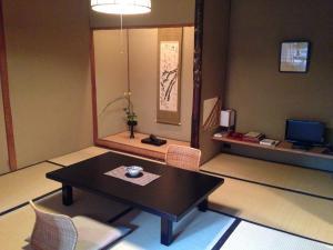 A television and/or entertainment center at Yoyokaku