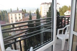 Балкон или терраса в Апартаменты-студия на Тюльпанов 3