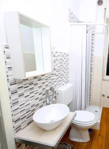 A bathroom at B&B Salernoway