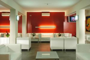 Posezení v ubytování Hotel Nederland