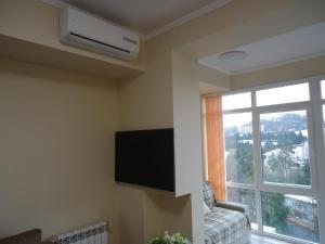 Телевизор и/или развлекательный центр в Fancy Studio in Sochi