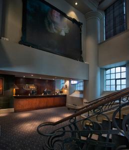 The lobby or reception area at Malmaison Hotel Leeds