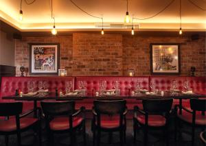 A restaurant or other place to eat at Malmaison Hotel Leeds