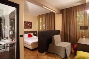 A seating area at Hotel & Spa Villa Mercede