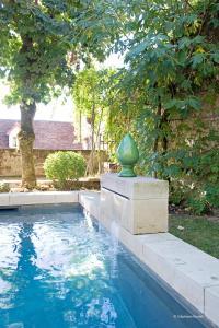 The swimming pool at or near La Devinie