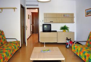 A television and/or entertainment center at Villaggio Dei Fiori