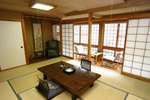 Eetgedeelte in de ryokan