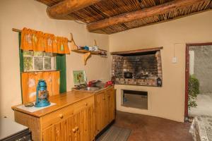 A kitchen or kitchenette at Matjiesvlei Guestfarm