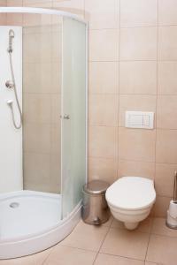 A bathroom at Castle Iris Apartment