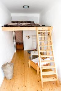 Kuchyň nebo kuchyňský kout v ubytování Cozy Room near Ostrava Center