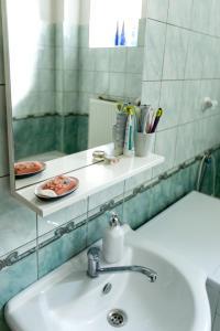 Koupelna v ubytování Cozy Room near Ostrava Center
