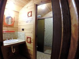 A bathroom at Alpine Retreat Mt Buller