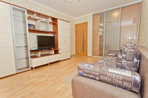 A television and/or entertainment center at Zvezdinka 7 Apartment